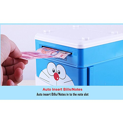 Emob Mini ATM With Electronic Lock & Secret Code To Unlock with Password