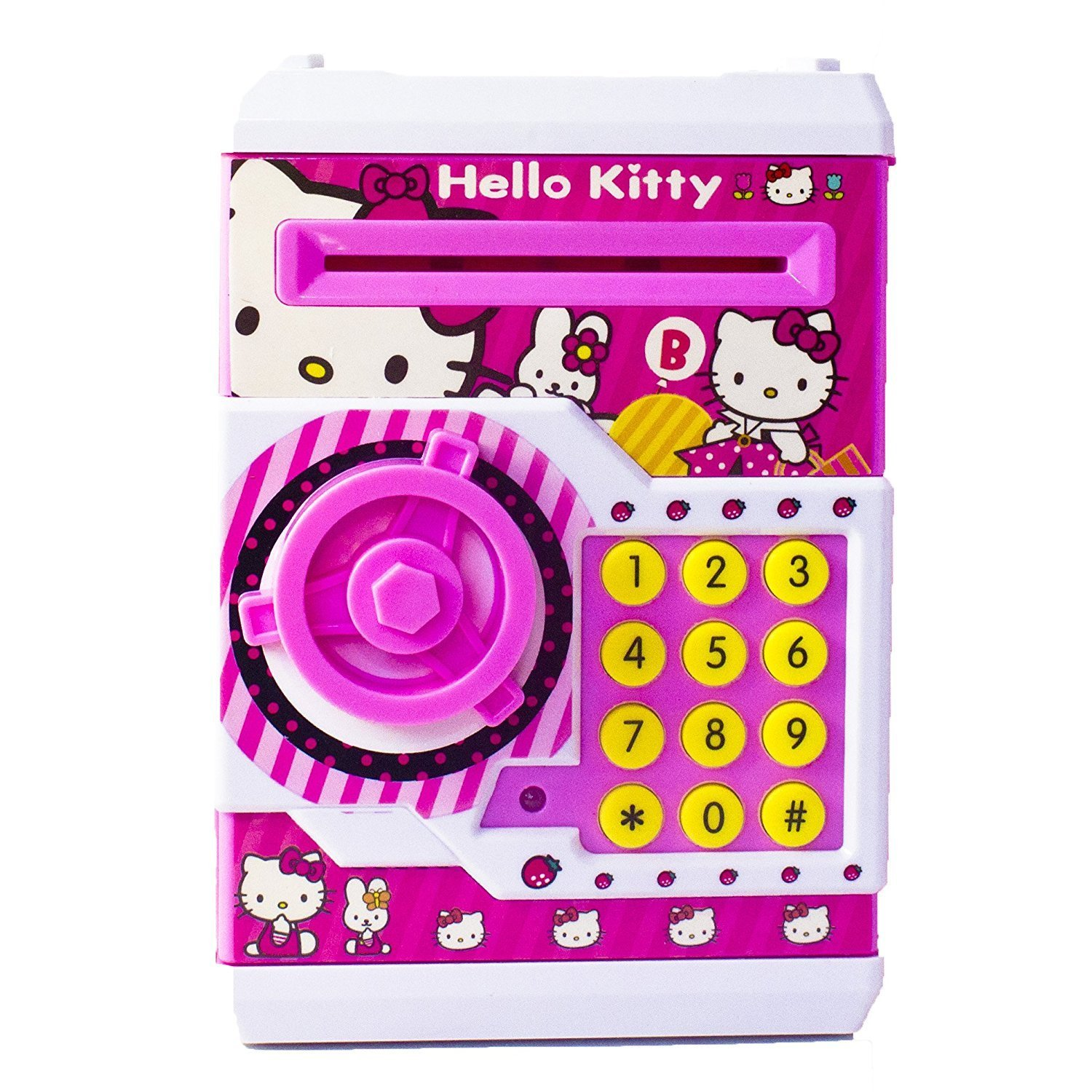 84d772ee1 Hello Kitty Emob Mini ATM With Electronic Lock & Secret Code (Pretty ...